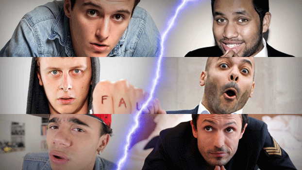 Battle de Tweets : Youtubers Vs Humoristes